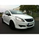 Lip frontal Opel Corsa D