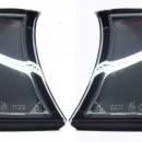 Piscas frontais BMW E46 Compact Clear Black
