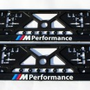 Placa de matricula BMW Performance