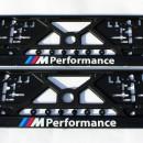 Placa de matricula BMW Performance