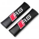 Almofadas de Cinto Audi RS tipo carbono