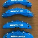 Capas de Travão Mercedes AMG azuis