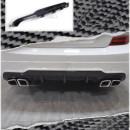 Difusor Mercedes C-Class S204 C63 Facelift AMG Avant em carbono