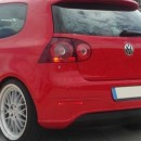 Difusor Vw Golf 5 R32 sem saidas de escape