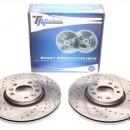 Discos Ta-Technix Perfurados, Ranhurados e Ventilados Citroen C5 RD 304mm