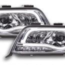 Farois cromados luz diurna Audi A6 C5 4B 01-04