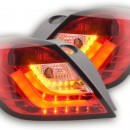 Farolins LED Opel Astra H GTC Yr. 04-08 vermelhos
