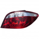 Farolins Peugeot 307 red / clear