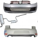 Kit de carroçaria completo + sistema de escape VW Golf 6 Look GTI (2008-up)