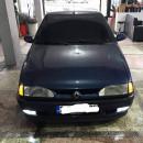 Lip frontal Opel Astra H adaptado em Renault 19