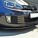 Lip frontal Vw Golf 6 GTI V.2