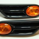 Piscas laterias laranja com grelhas Mini Cooper R56 R57