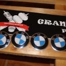 Centros de Jantes BMW em 3D  65mm