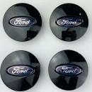 Centros de Jantes Ford 65mm pretos