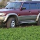 Chuventos Nissan Patrol Y61 4 portas
