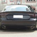 Difusor Audi A7 4G (2010-2014 RS7 com ponteiras