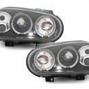 Farois Angel Eyes Pretos Vw Golf 4