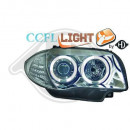Farois cromados Angel Eyes CCFL BMW E81, E82, E87, E88