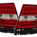 Farolins Audi A4 B5 Sedan LED vermelhos e brancos