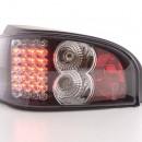 Farolins Citroen Saxo 96-02 pretos em LED