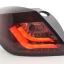 Farolins LED Opel Astra H GTC Yr. 04-08 vermelho / preto