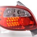 Farolins LED Peugeot 206 .98-05 claro / vermelho