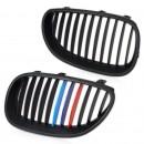 Grelhas com listas BMW E60 e E61 ///M em plastico
