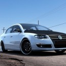 Lip frontal VW Passat 3C B6