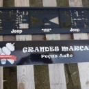 Placa de matricula Jeep