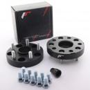 Adaptadores de furação Japan Racing 5x112 para 5x130 25mm