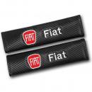 Almofadas de Cintos Fiat tipo carbono