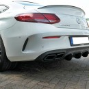 Difusor Mercedes C-class C205 63AMG Coupe