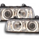 Farois Angel Eyes BMW E36 Coupe cromo Xenon