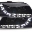 Farois pretos Audi A6 C5 4B em led 01-04