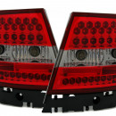 Farolins Audi A4 B5 Sedan LED vermelhos e pretos