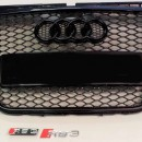 Grelha Audi A3 8P RS3 Preta