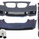 Kit de carroçaria BMW F11 Touring M-Technik Design com escape Silenciador
