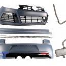 Kit de carroçaria VW Golf 6 R20 Look (2008-up) e sistema de escape completo R20