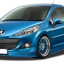 Lip frontal Peugeot 207 Facelift 2009+