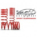 Molas de Rebaixamento V-Maxx Vw Bora 1J 1.8 / 2.0 / 1.9SDi / 1.9TDi 90-100-110-130HP excl. Aut.  35/35mm