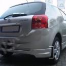 Spoiler´s Traseiros do Para-Choques Toyota Corolla E12
