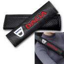 Almofadas de Cintos Dacia tipo carbono