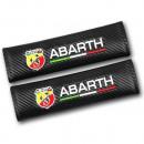 Almofadas de Cintos Fiat Abarth tipo carbono