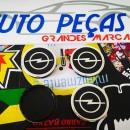 Centros de Jantes Opel 55mm