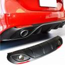 Difusor Alfa Romeo Giulia com reflectores