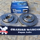 Discos Ta-technix Perfurados e Ranhurados Seat Ibiza 6L 256mm