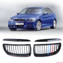 Grelhas com listas BMW E90 e E91 ///M em plastico