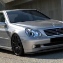 Lip frontal Mercedes W203 2000-2004