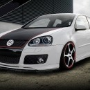 Lip frontal Vw Golf 5 GTI Votex