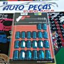 Lug Nuts M12x1.5 Japan Racing Azuis